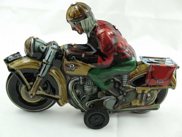 Blechspielzeug - Motorrad 'SEPP' (Tipp & Co Nachbau) Made in Germany