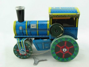 Straßenwalze Dampfwalze 1927 von KOVAP - Blechspielzeug