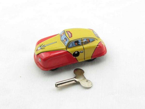 Blechspielzeug - Auto Taxi aus Blech 7cm