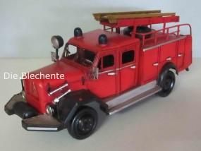 Blechmodell - Feuerwehr Deutschland 1960