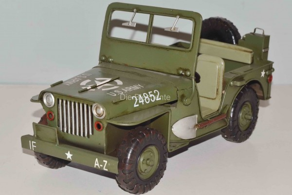 Blechmodell - US-Jeep 1941