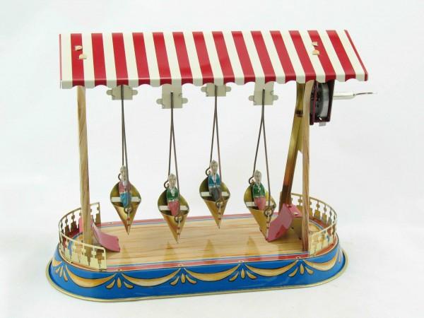 Blechspielzeug - Barock-Schiffschaukel BRD