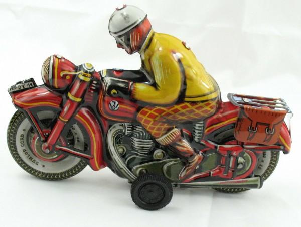 Blechspielzeug - Motorrad 'JOSEF' (Tipp & Co Nachbau) Made in Germany