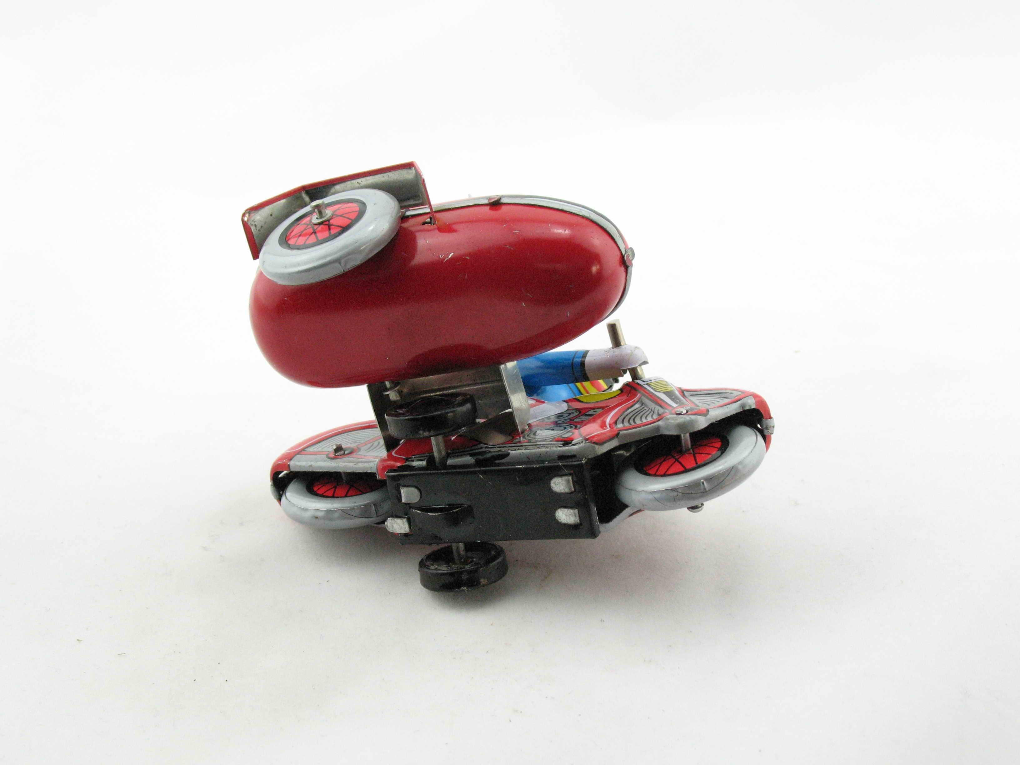 Motorrad mit Beiwagen  3210281 Blechspielzeug