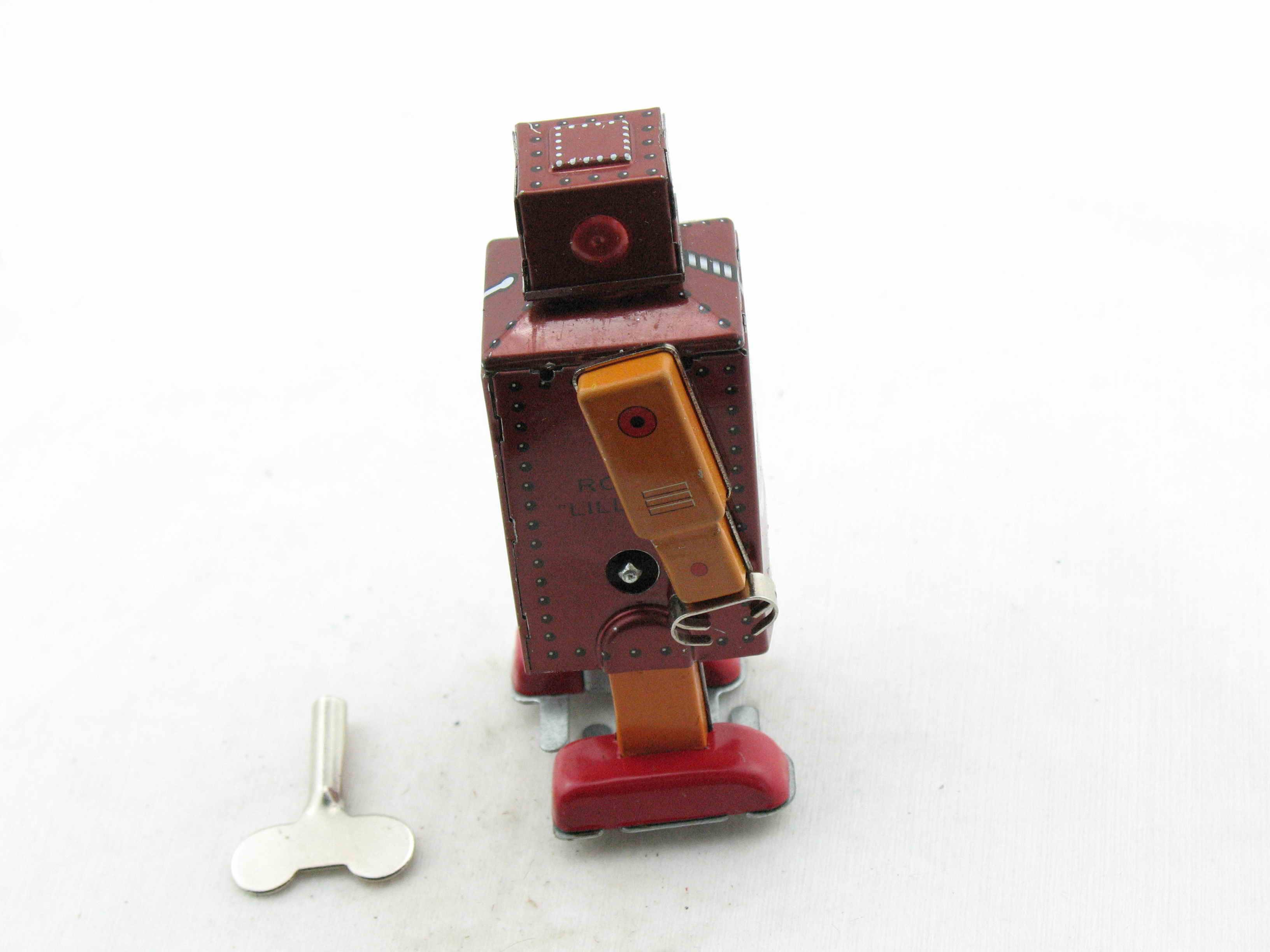 Blechroboter StraßEnpreis Roboter Blau Mechanical Robot