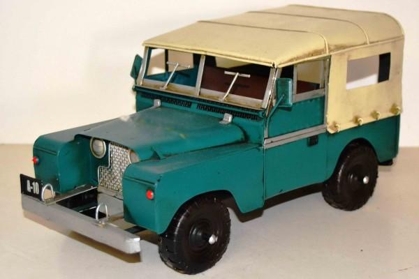 Blechmodell - Jeep mit festem Dach