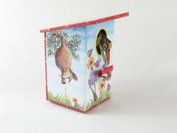 Blechspielzeug - Vogelspardose Wiese, Baya