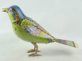 Blechspielzeug - Vogel Singing Bird mit Stimme