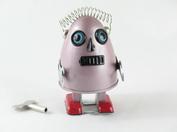Blechspielzeug - Roboter EGG ROBOT, violett