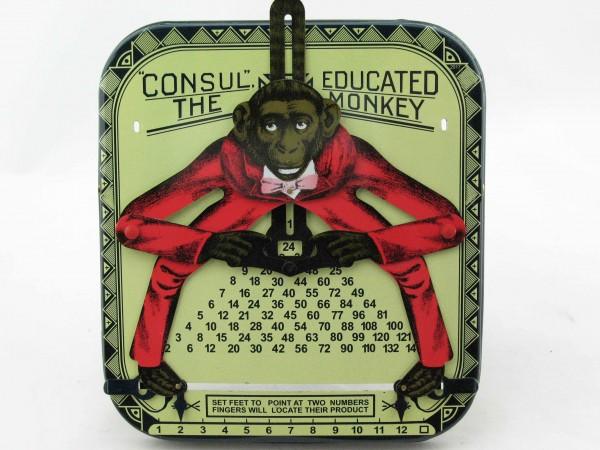 Blechspielzeug - Affenkalkulator - The Educated Monkey CONSUL