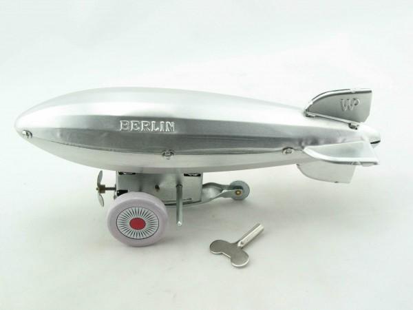 Blechspielzeug - Zeppelin Berlin aus Aluminium