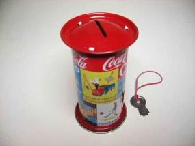 Blechspielzeug - Spardose Plakatsäule D