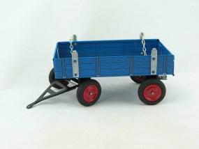 Traktor Anhänger blau, für Eilbulldog, Neuheit 2015 von KOVAP - Blechspielzeug