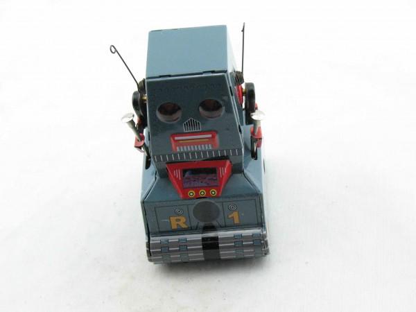 Blechspielzeug - Roboter auf Raupen