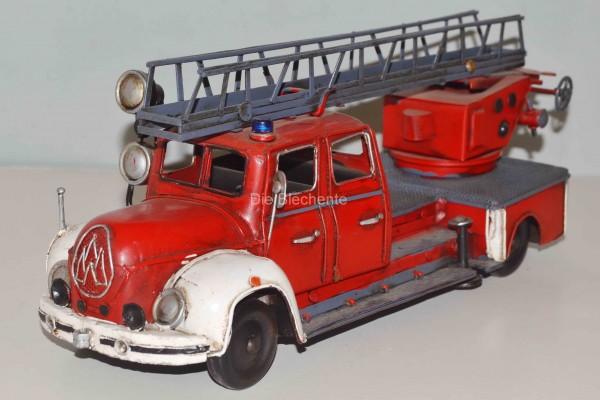 Blechmodell - Magirus Feuerwehr Leiterwagen 1955