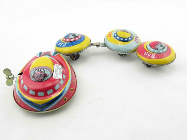 Blechspielzeug - Ufo Space-Ship, Ufoverbund