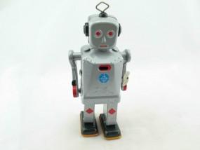 Blechspielzeug - Roboter Sparkling Robot Mike