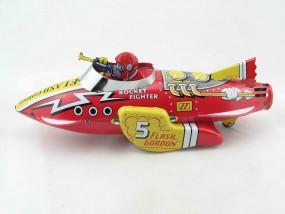 Blechspielzeug - Flash Gordon Rocket Fighter Ship - Das Original von Schylling