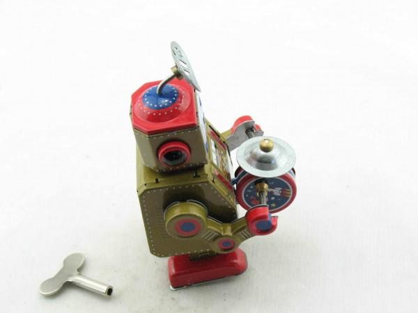 Blechspielzeug - Roboter Bigband, gold