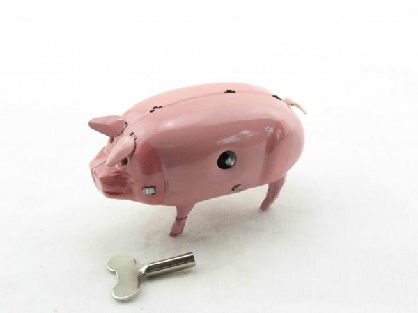 Blechspielzeug - Schwein Polly
