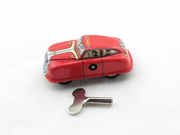 Blechspielzeug - Auto Feuerwehr aus Blech 7cm