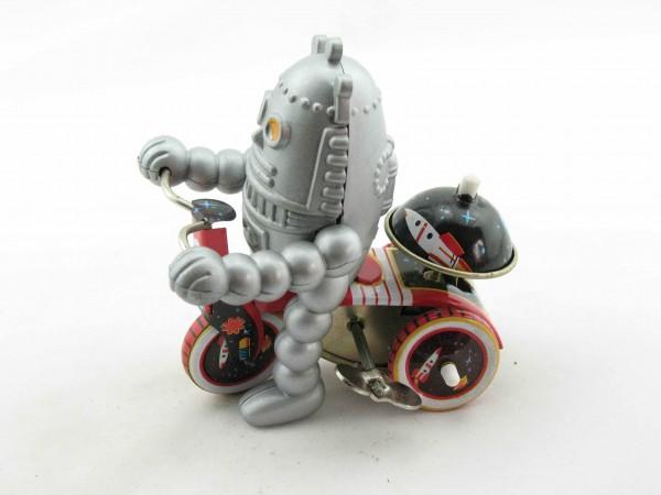 Blechspielzeug - Space Baby-Robot auf Dreirad