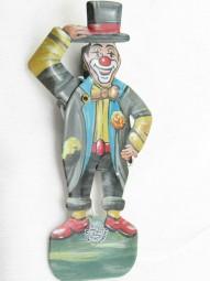 Blechspielzeug - Grußmännchen Clown D