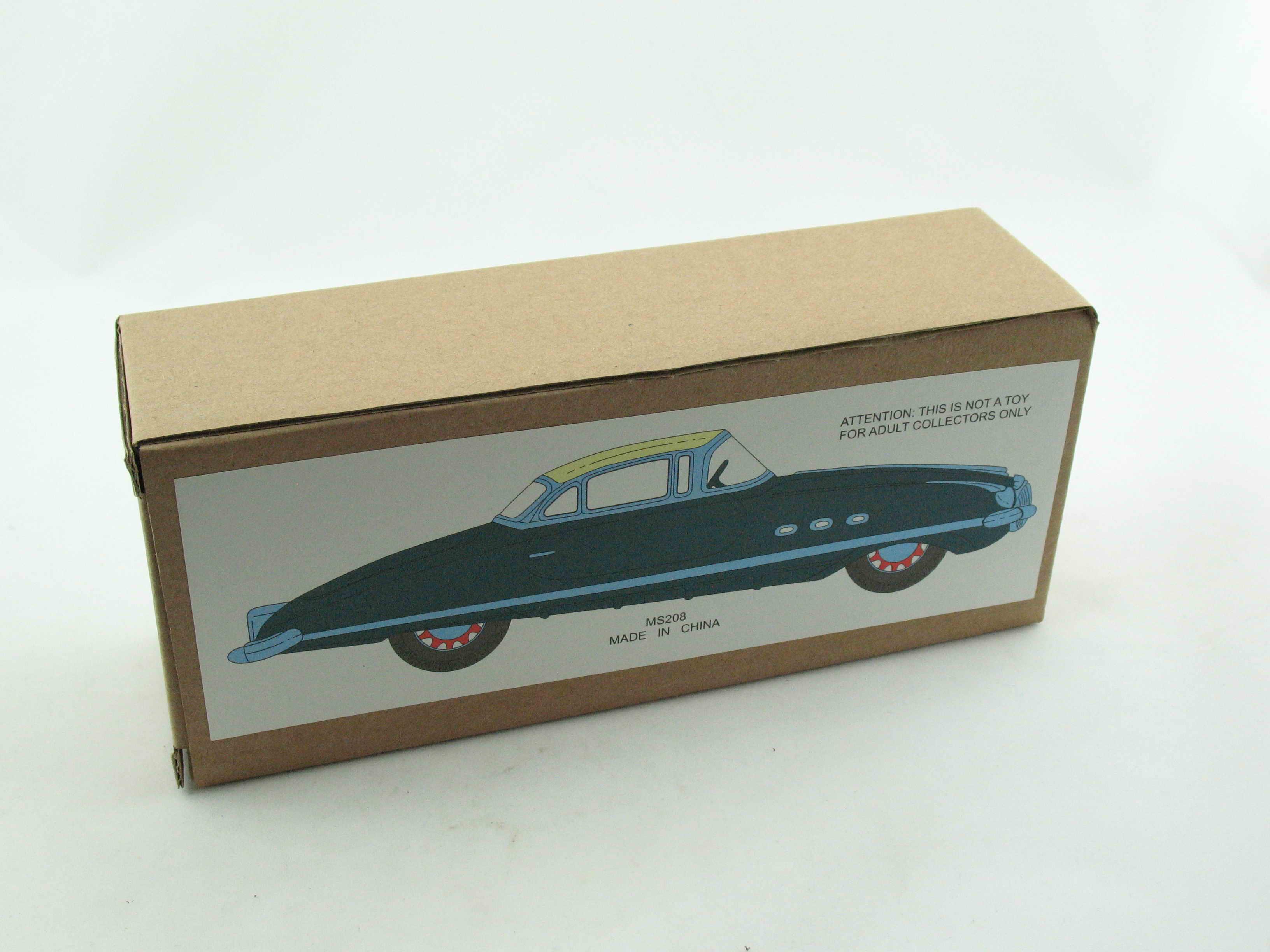türkis  1030208 Blechspielzeug Auto Packard Paya Nachbau