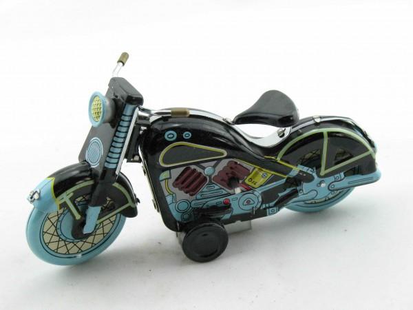 Blechspielzeug - Motorrad Harley klein schwarz