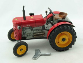 Traktor Zetor 25A -rot- von Kovap NEUHEIT Nov. 2013! - Blechspielzeug