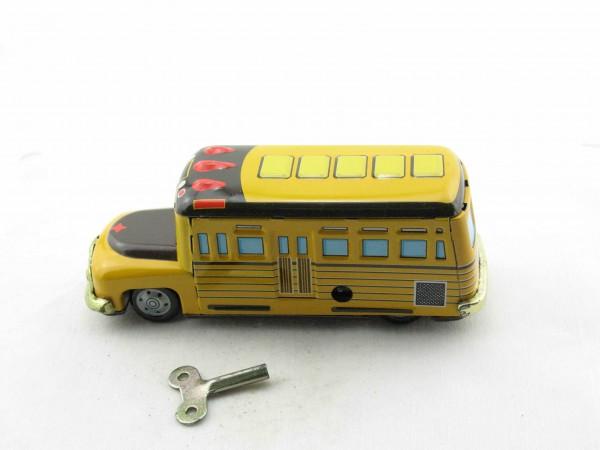 Blechspielzeug - Auto Bus - Schulbus USA