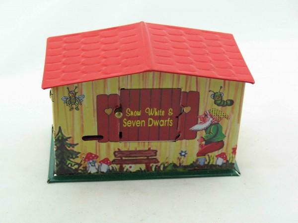 Blechspielzeug - Spardose Snow White Bank, Schneewittchen