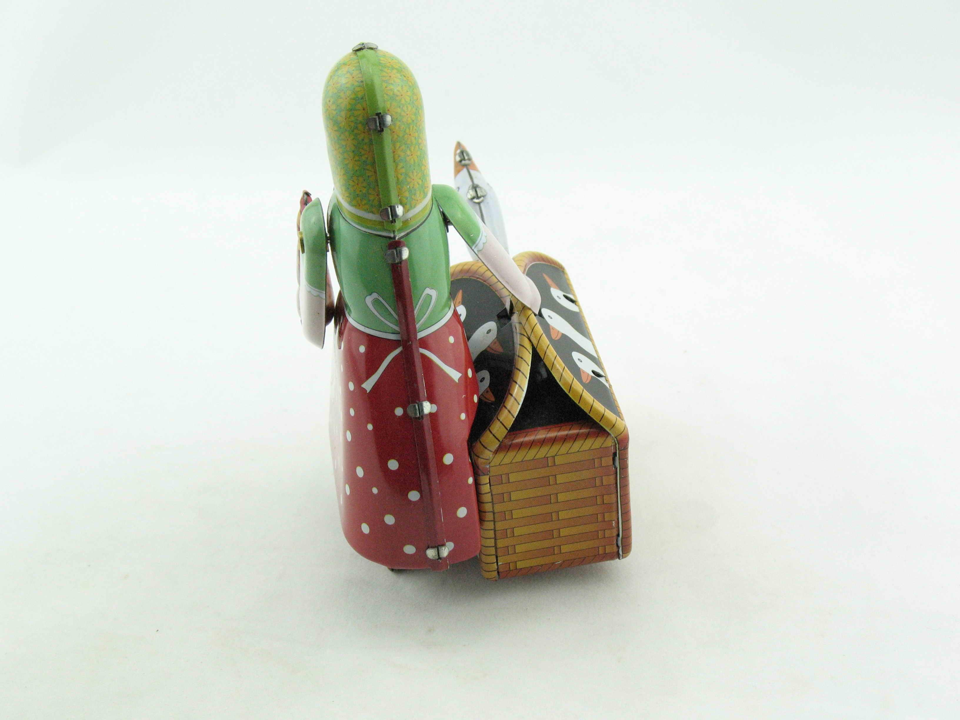 Blechspielzeug Gänseliesel mit Korb 2530501