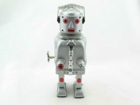 Blechspielzeug - Roboter Mr. Robot, The Mechanical Brain