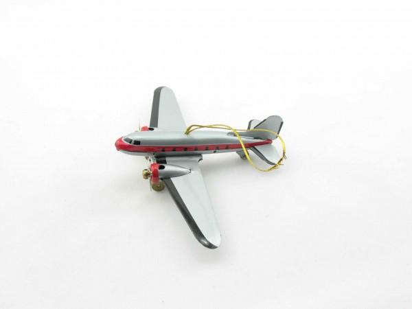 Blechspielzeug - Deko-Flugzeug DC3