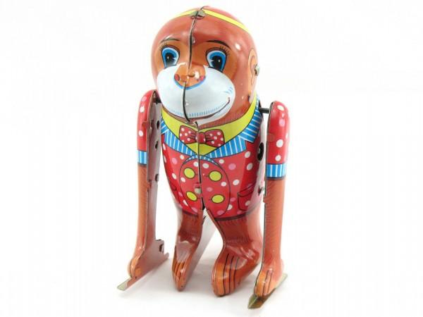 Blechspielzeug - Turnender Affe mit Überschlag TUMBLING MONKEY