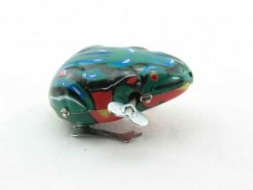 Blechspielzeug - Blechfrosch hüpfend