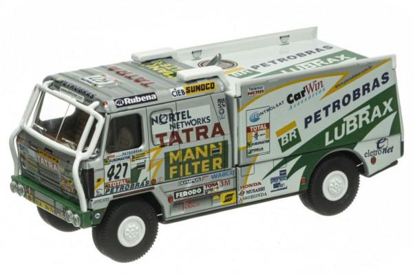 Tatra 815 LKW Rallye Dakar 2001 'Petrobras' von KOVAP, Neuheit 2021 – Blechspielzeug