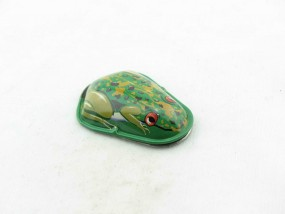 Blechspielzeug - Knack-Frosch, verschiedene Farben