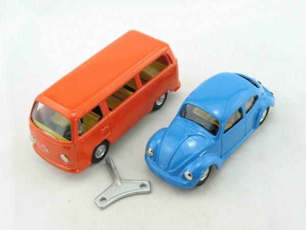 VW Set mit Uhrwerk, 2teilig, CKO Replica von KOVAP - Blechspielzeug