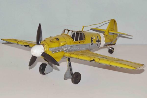 Blechmodell - Flugzeug Messerschmitt ME 109