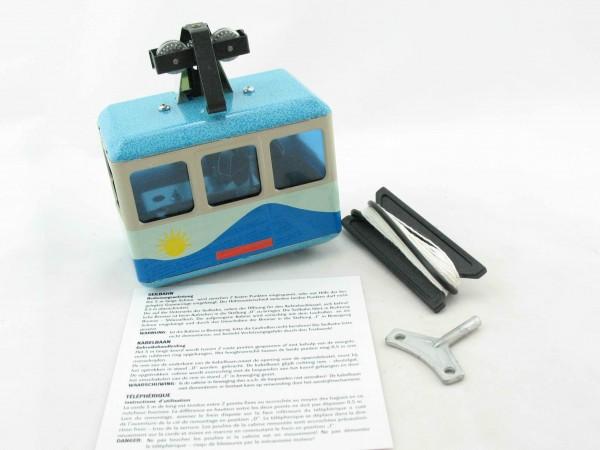 Seilbahn, Gondelbahn - blau von KOVAP - Blechspielzeug
