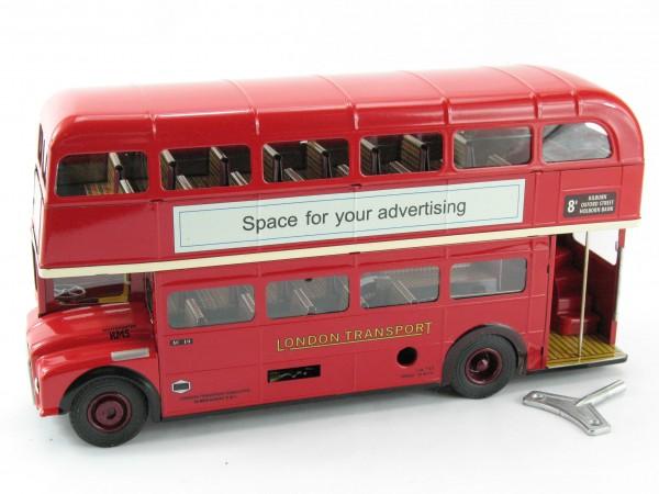 London-Bus Routemaster RM 5 von KOVAP, Neuheit 2018 - Blechspielzeug