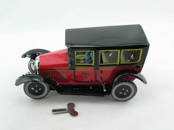 Blechspielzeug - Oldtimer Taxi, rot
