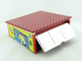 Garage mit Schwingtor von KOVAP - Blechspielzeug