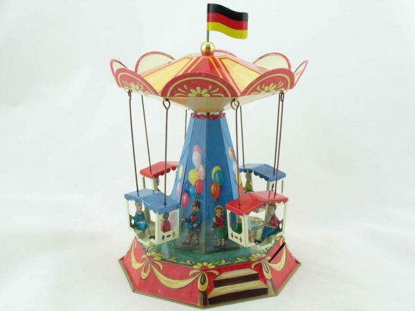 Blechspielzeug - Kirmes Karussell Nostalgie BRD