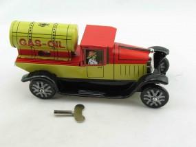 Blechspielzeug - Lastwagen Oeltanker, Paya-Nachbau