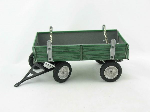 Traktor Anhänger für MAN, grün von KOVAP - Blechspielzeug