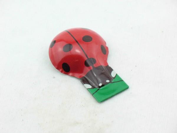 Blechspielzeug - Knackfrosch, Marienkäfer, extra stabil von KOVAP
