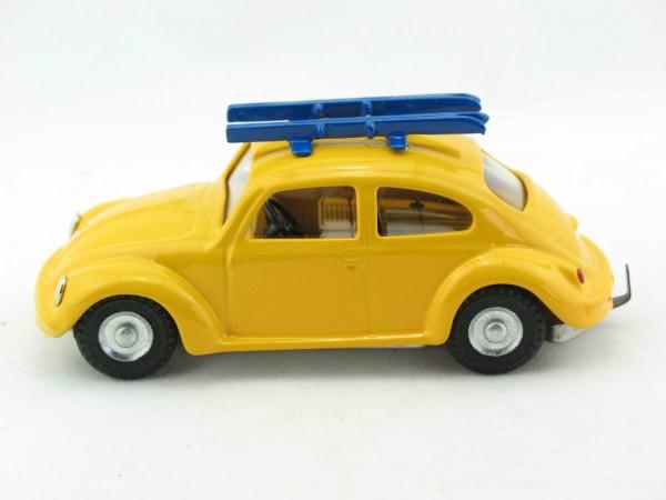 VW Käfer mit Skiern, CKO Replica von KOVAP - Blechspielzeug